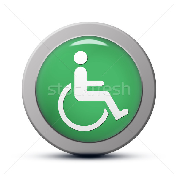 handicapped icon Stock photo © Mazirama