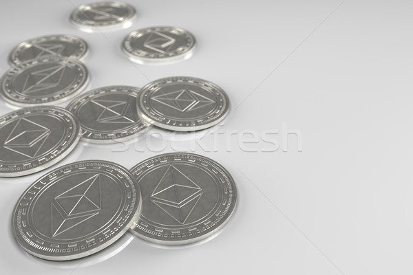 Ethereum Coins Concept Stock photo © Mazirama