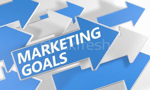 Marketing Goals Stock photo © Mazirama