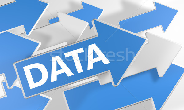 Data Concept Stock photo © Mazirama