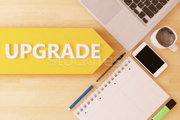 Upgrade Stock photo © Mazirama