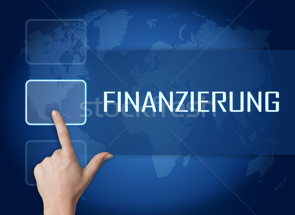 Finanzierung Stock photo © Mazirama