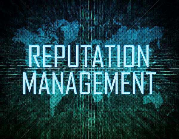 Reputation Management Stock photo © Mazirama