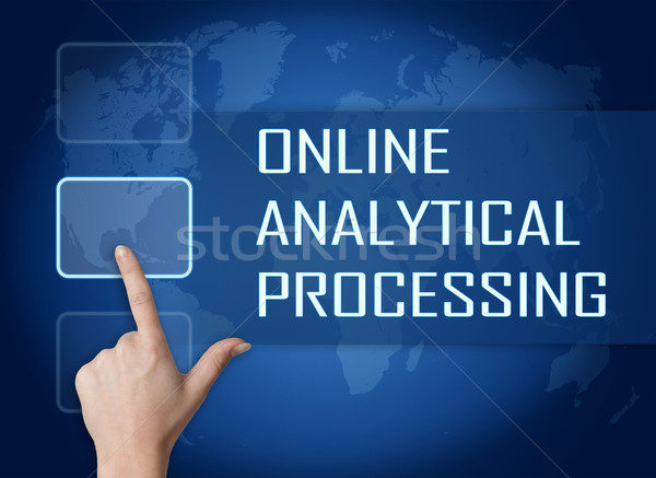 Online Analytical Processing Stock photo © Mazirama