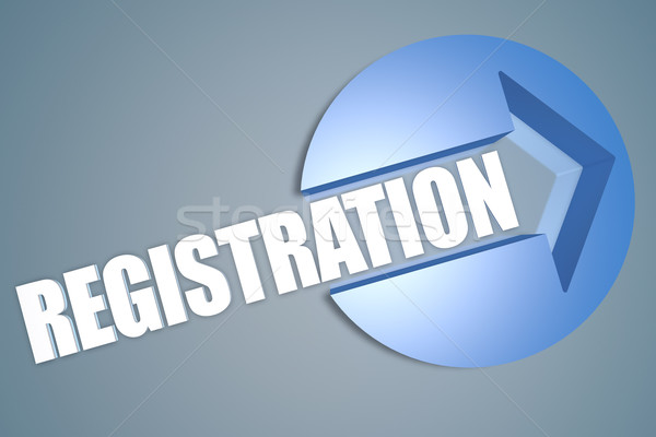 Registration Stock photo © Mazirama