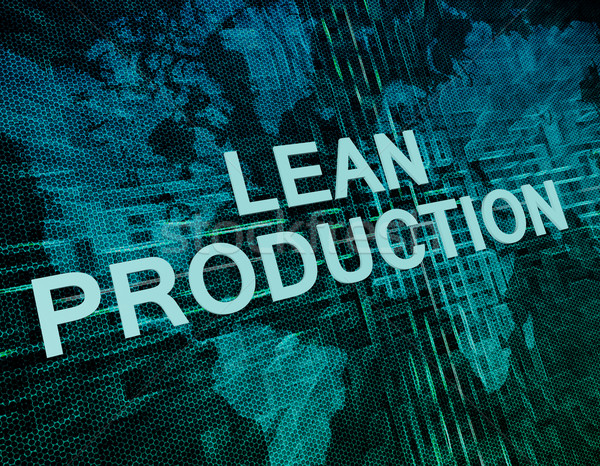 Lean Production Stock photo © Mazirama