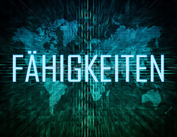 Faehigkeiten Stock photo © Mazirama