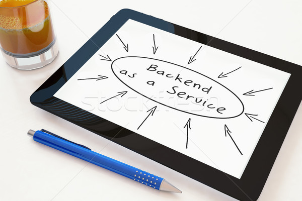 Backend as a Service Stock photo © Mazirama