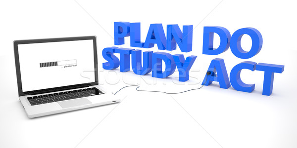 плана исследование Закон ноутбука ноутбук компьютер Сток-фото © Mazirama