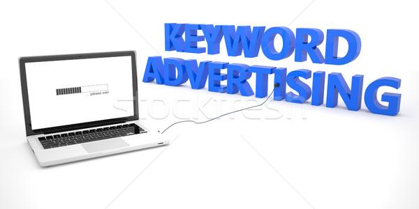 Keyword Advertising Stock photo © Mazirama