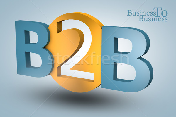 Business to business Stock photo © Mazirama
