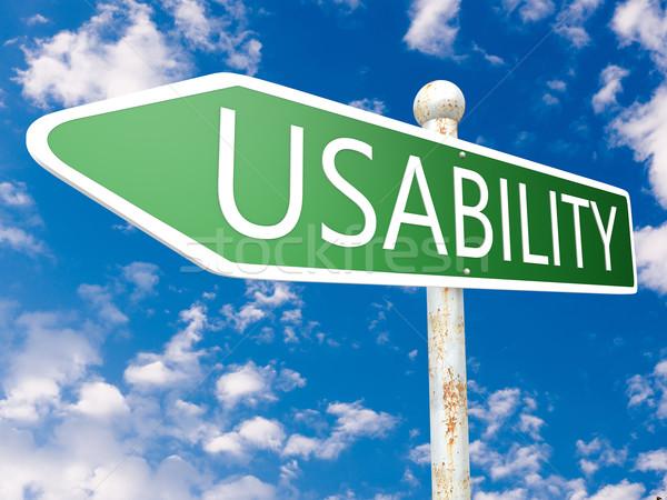 Usability Stock photo © Mazirama