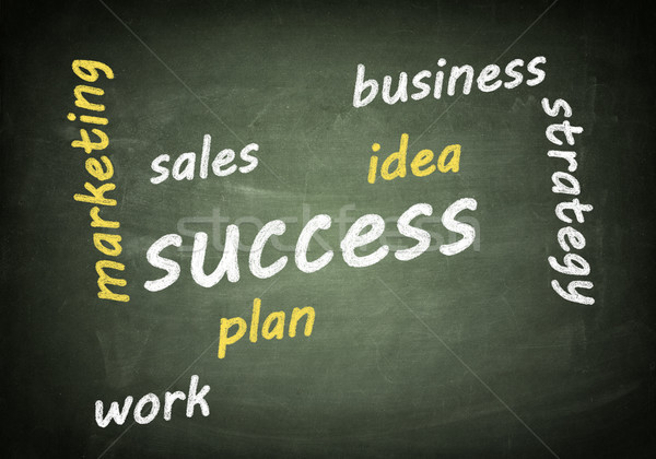 Success Tagcloud Stock photo © Mazirama