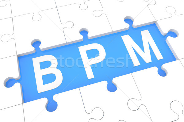 Business Process Management Stock photo © Mazirama