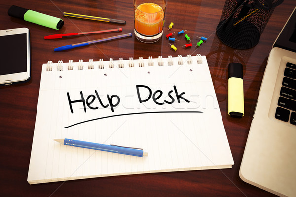 Help Desk Stock photo © Mazirama