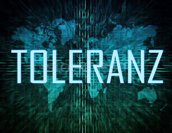 Toleranz Stock photo © Mazirama