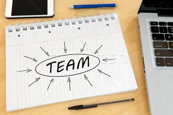 Team text concept Stock photo © Mazirama