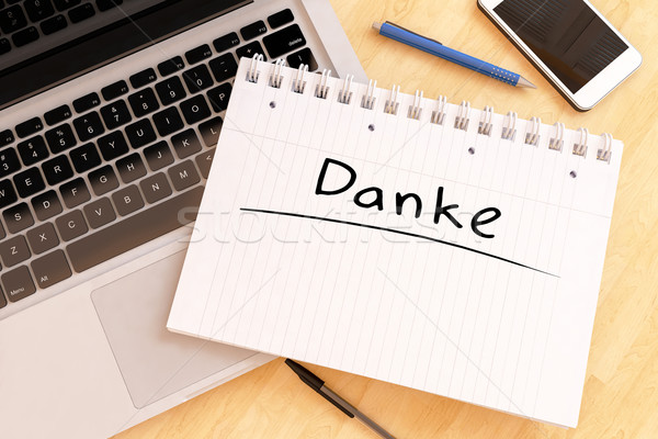 Danke Stock photo © Mazirama