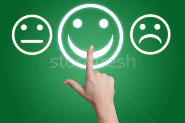 feedback button Stock photo © Mazirama