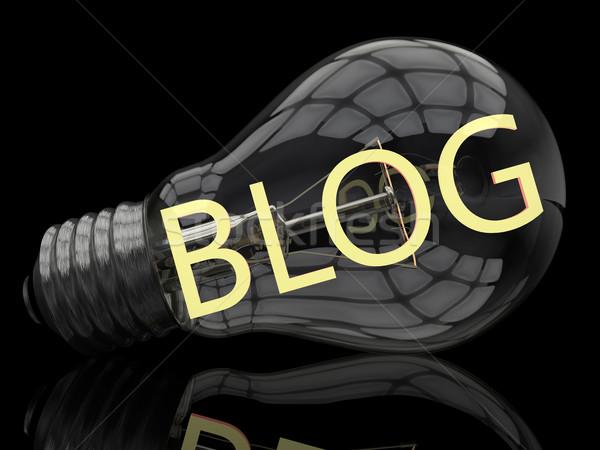 Blog Stock photo © Mazirama