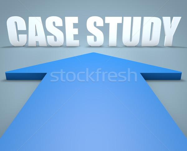 Case Study Stock photo © Mazirama
