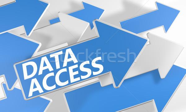 Data Access Stock photo © Mazirama