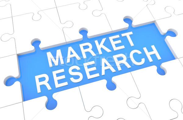 Market Research Stock photo © Mazirama