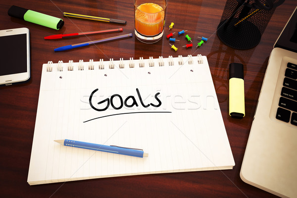 Goals Stock photo © Mazirama