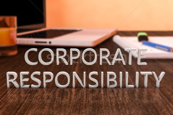 Corporate Responsibility Stock photo © Mazirama