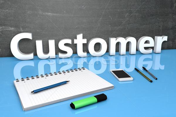 Customer Stock photo © Mazirama