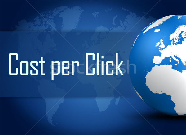 Cost per Click Stock photo © Mazirama