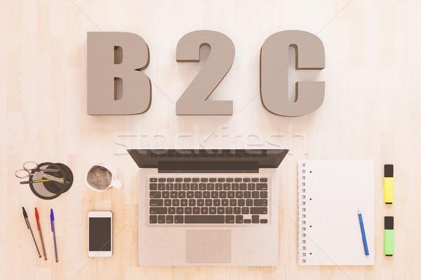 B2C Concept Stock photo © Mazirama