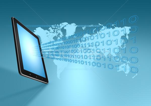 Modern communication technology  Stock photo © Mazirama