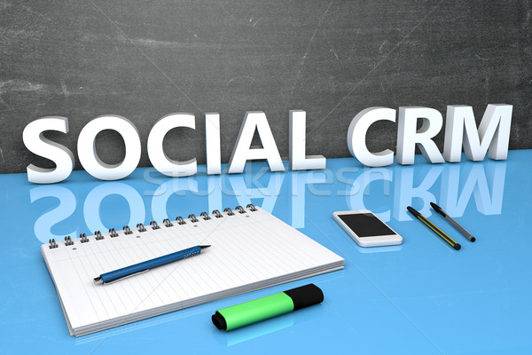 Social CRM Stock photo © Mazirama