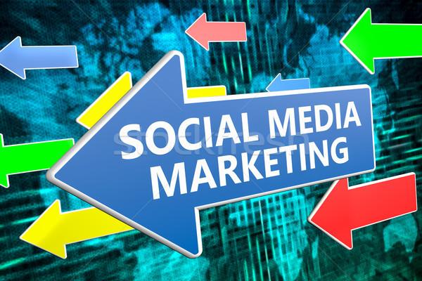 Social Media Marketing Stock photo © Mazirama