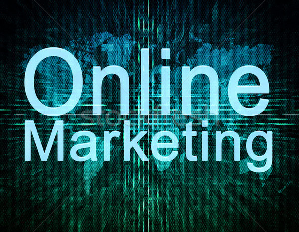 Marketing digital tela negócio textura Foto stock © Mazirama