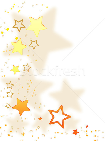 Karácsony kártya karácsony dizájnok fehér arany Stock fotó © Mazirama