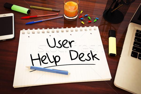 User Help Desk Stock photo © Mazirama
