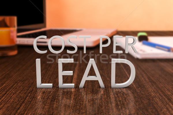 Cost per Lead Stock photo © Mazirama