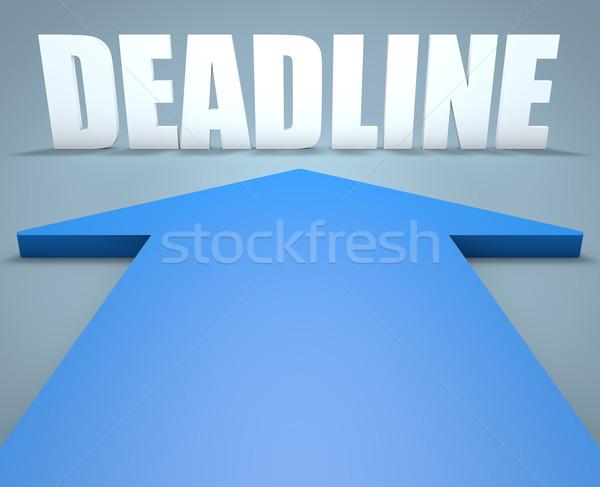 Deadline Stock photo © Mazirama