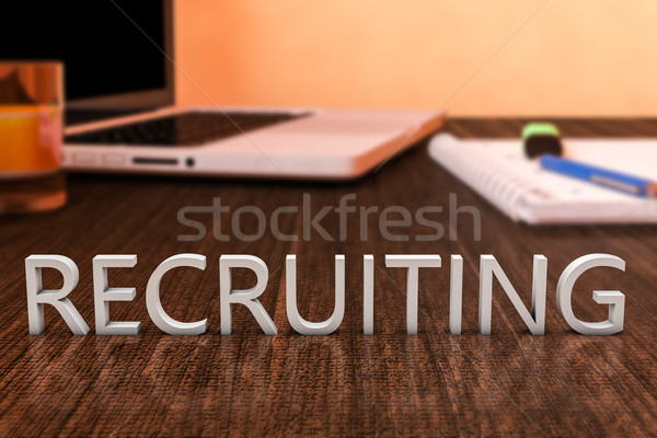 Recruiting Stock photo © Mazirama