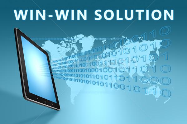 Stock photo: Win-Win Solution