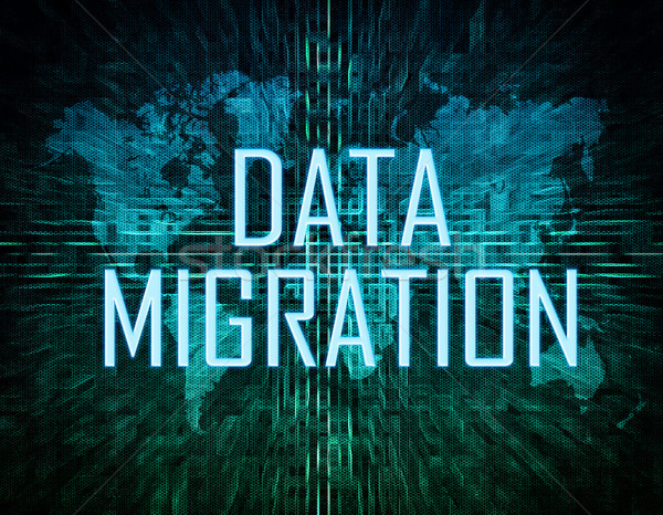 Data Migration Stock photo © Mazirama