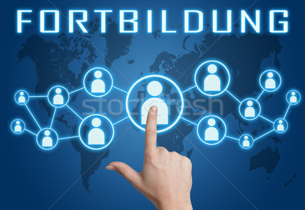 Stock photo: Fortbildung