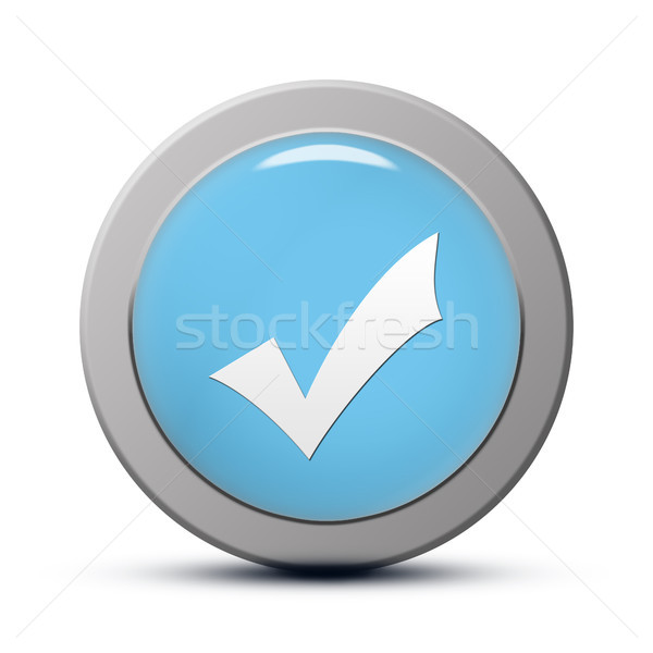 Validate icon  Stock photo © Mazirama