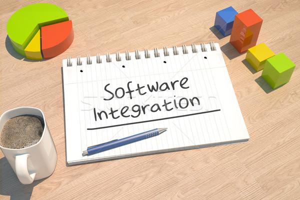 Software Integration Stock photo © Mazirama