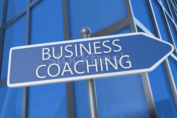 Business Coaching Stock photo © Mazirama
