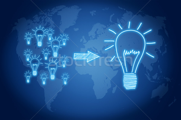 Manage good ideas Stock photo © Mazirama