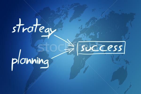 Stock photo: success concept