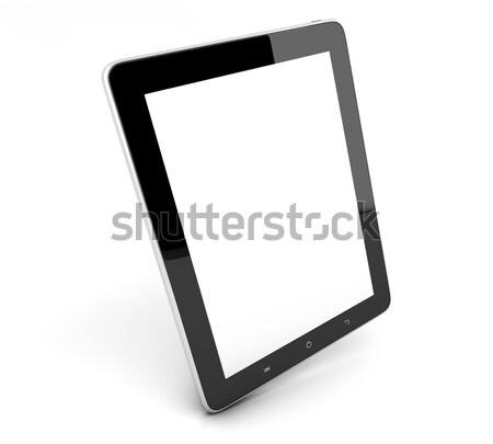 Gerçekçi bilgisayar gibi ekran Stok fotoğraf © Mazirama